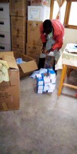 Medikamente und Schutzausrüstung