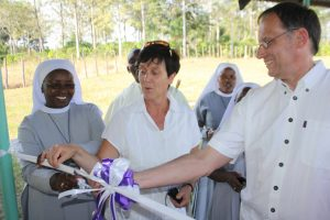 Eröffnung der Entbindungsstation